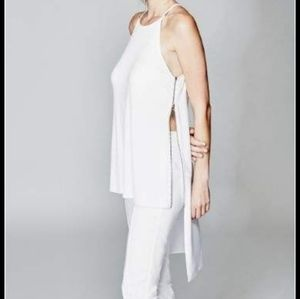 NWT Marciano Josie High/Low Tank Top